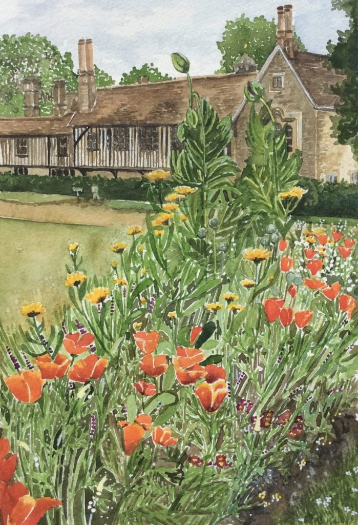 a glimpse of ightham mote